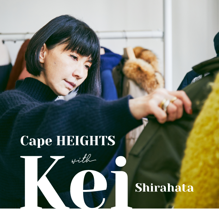 Cape HEIGHTS with Kei Shirahata
